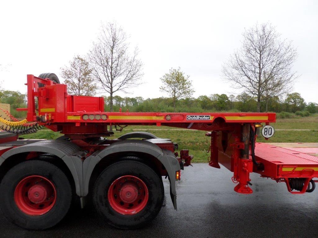Goldhofer STZL6-62-80 Double extendable semi low loader (2)