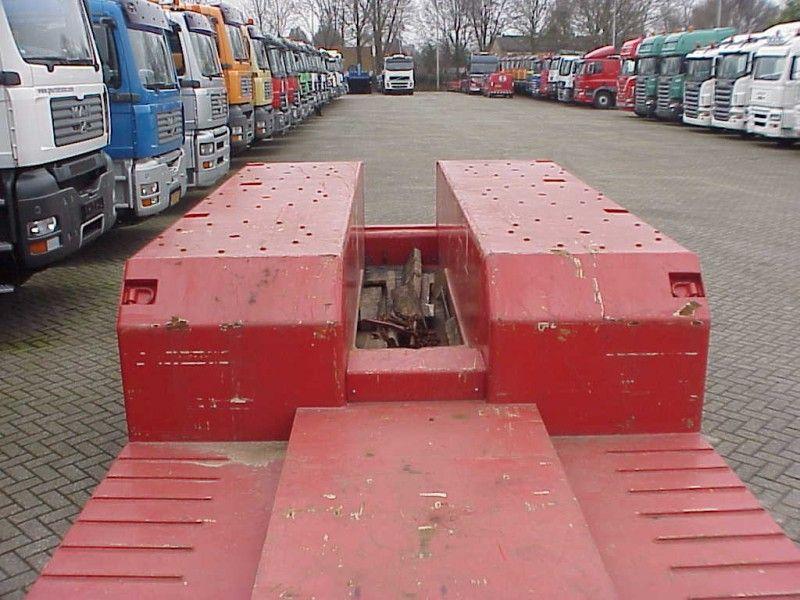 Goldhofer, rojo 1+3 lowloader, Dieplader, 2010