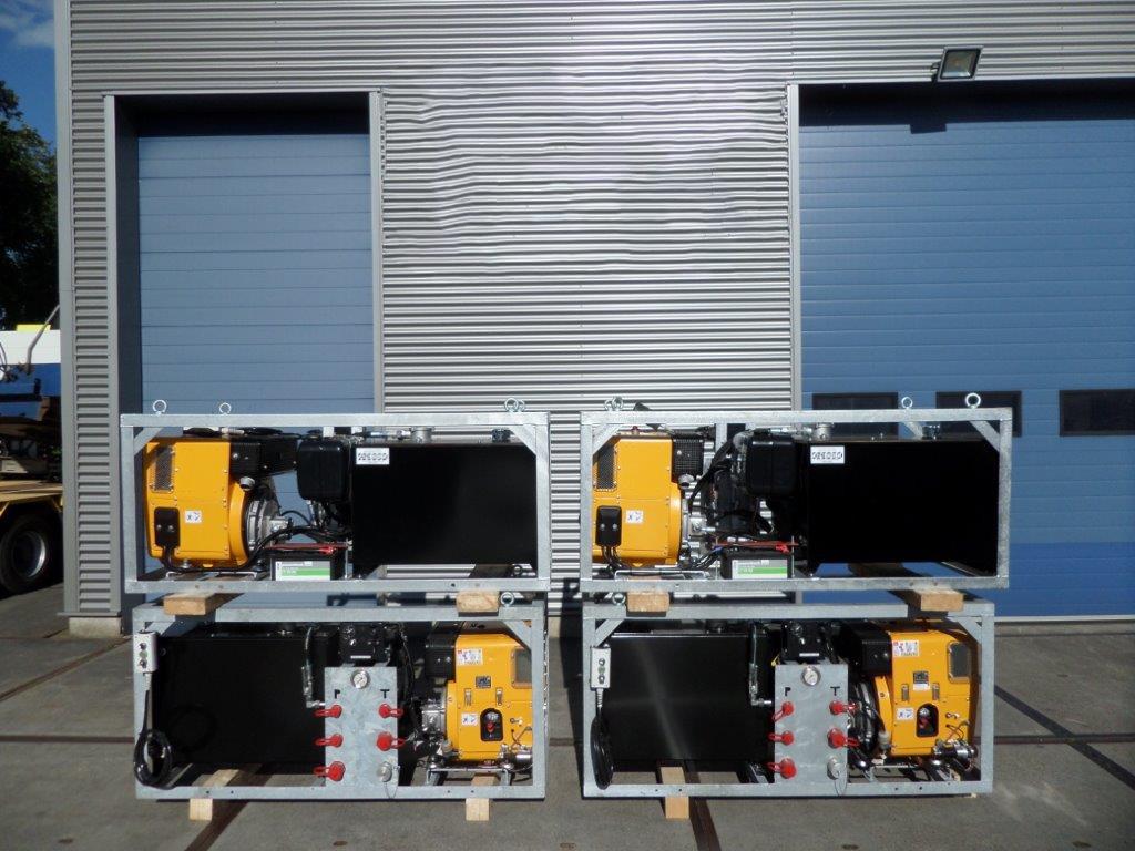 Hatz Diesel Silent Hatz Hydraulic diesel Silentpack (15)