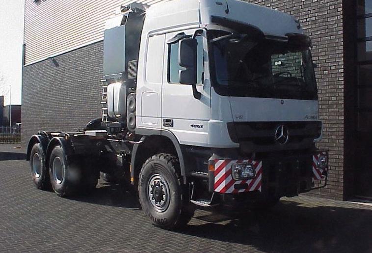 Mercedes benz 4061 SLT 6x6 Titan 2016 6