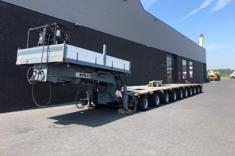 Nicolas 10 axle modular trailer with gooseneck (1)