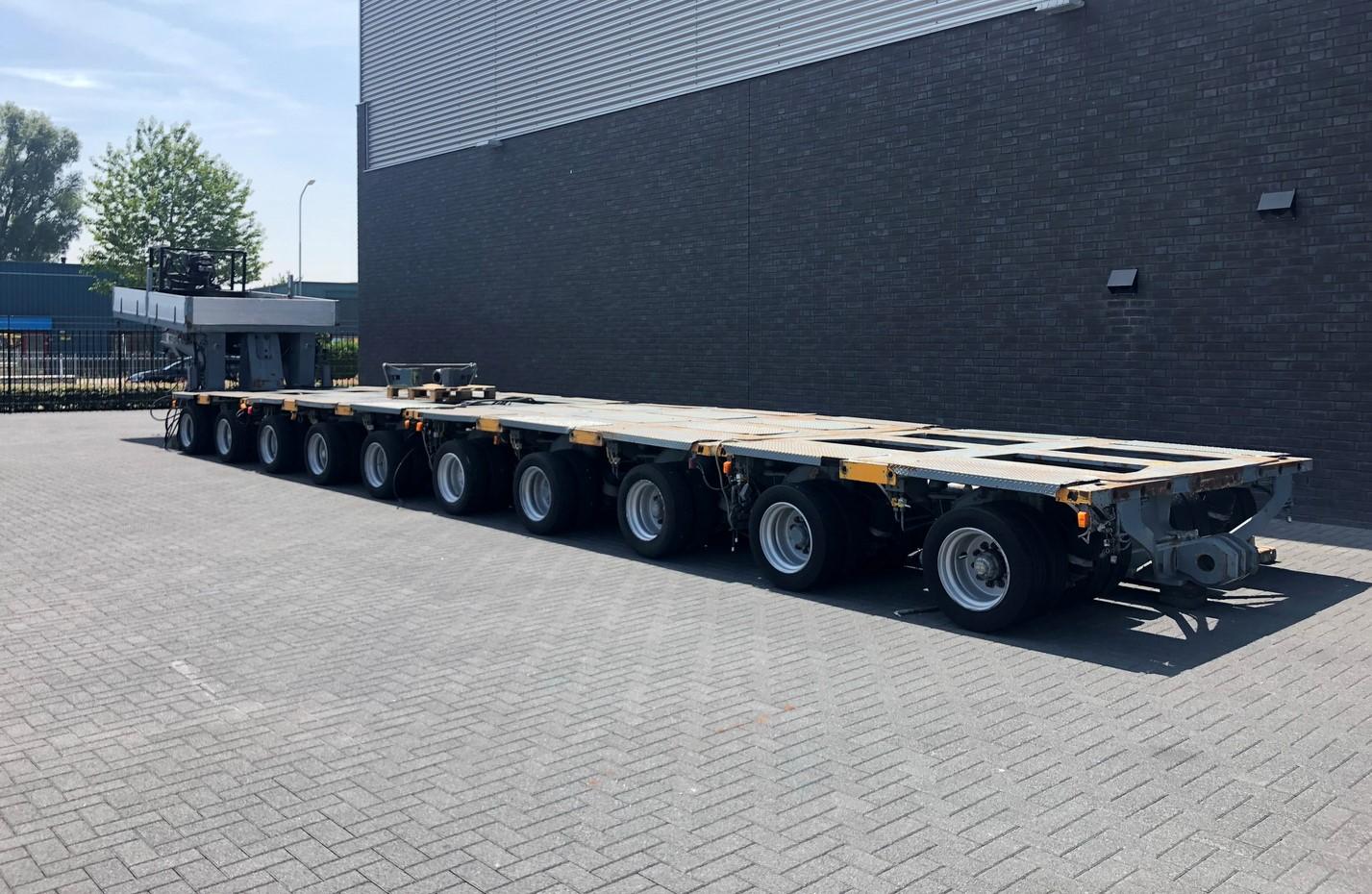 Nicolas 10 axle modular trailer with gooseneck (2)