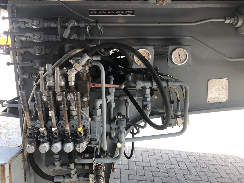Nicolas 10 axle modular trailer with gooseneck (7)