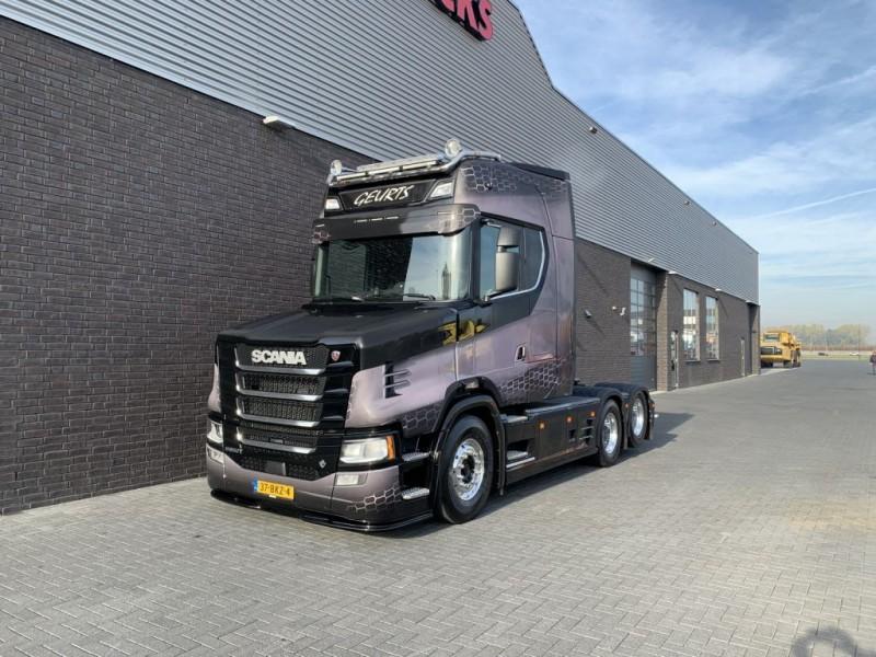 Scania - S 650 T 6X2 TRACTOR NEW TORPEDO NOSE HAUBE 1