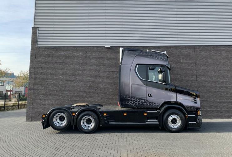Scania - S 650 T 6X2 TRACTOR NEW TORPEDO NOSE HAUBE 6