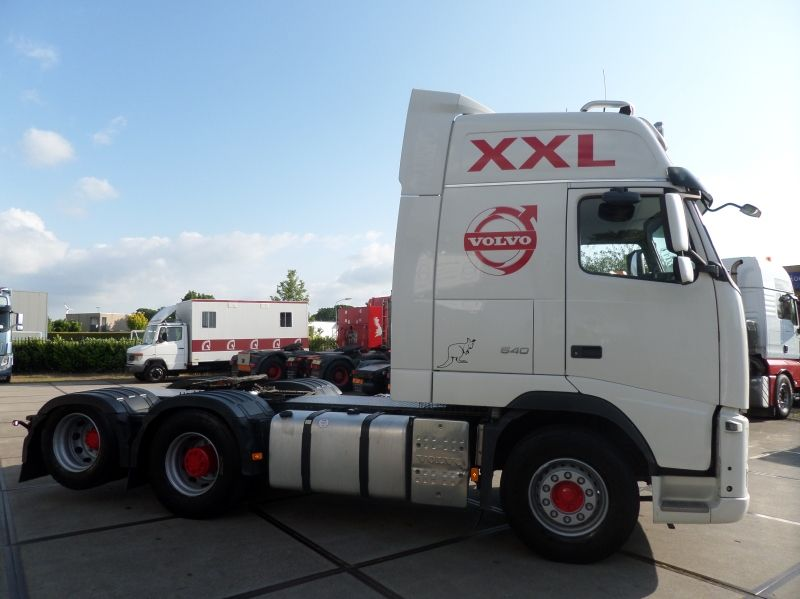 Volvo, FH540 6x2 Double Boogie Tractor, XXL!, Trekker, 2010