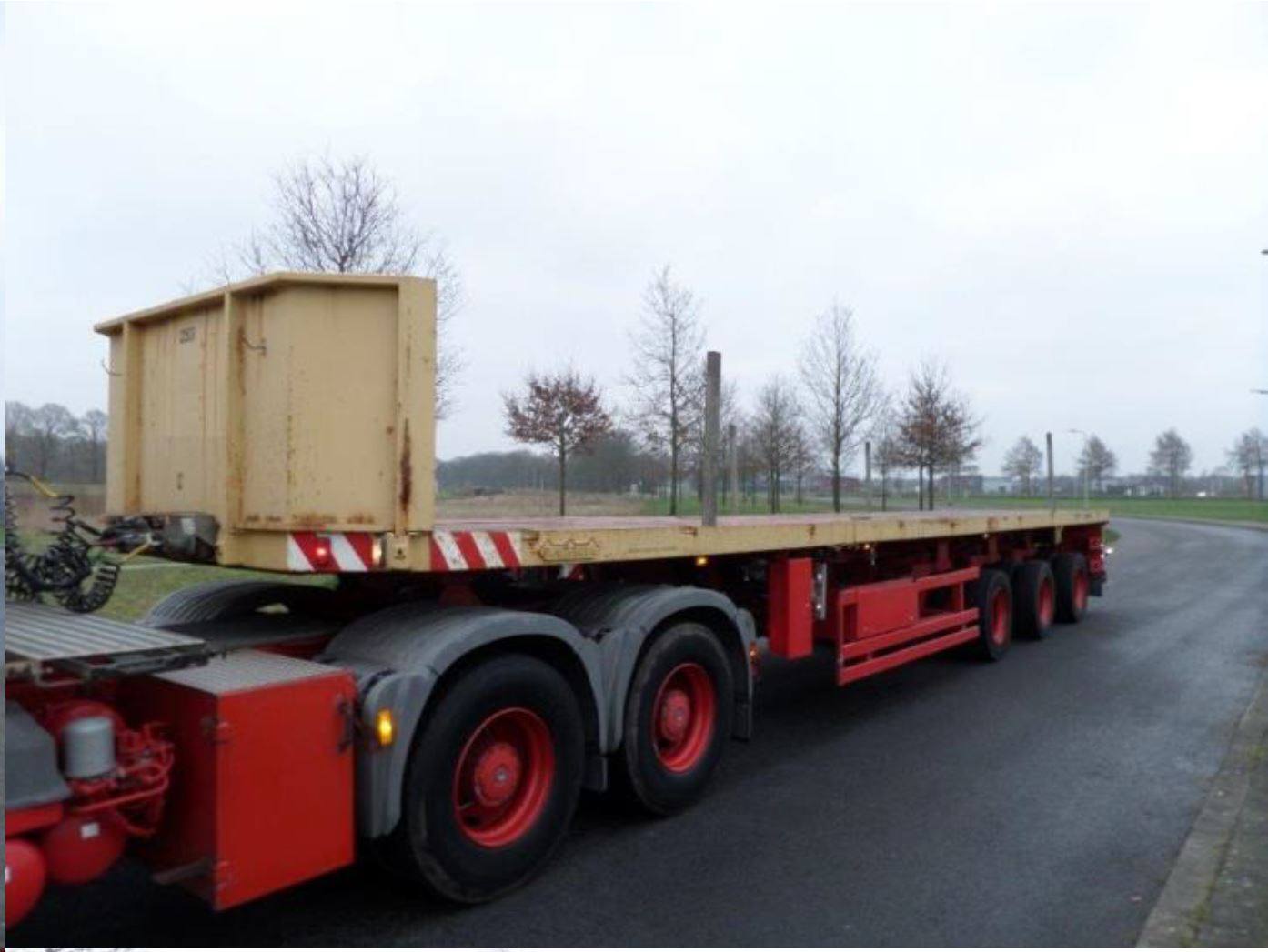 Nooteboom 3 axle tele-trailer 2006 (20)