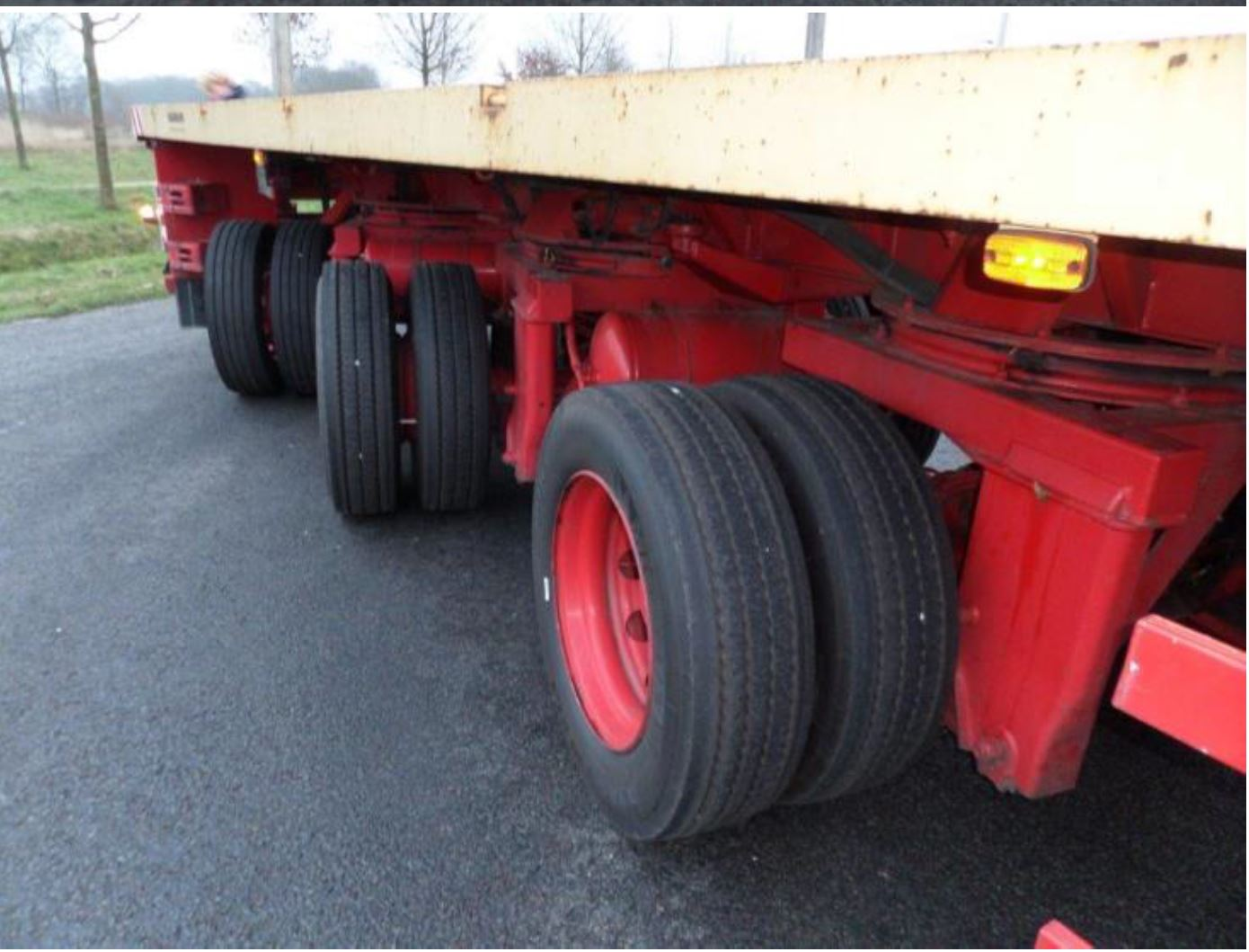 Nooteboom 3 axle tele-trailer 2006 (41)