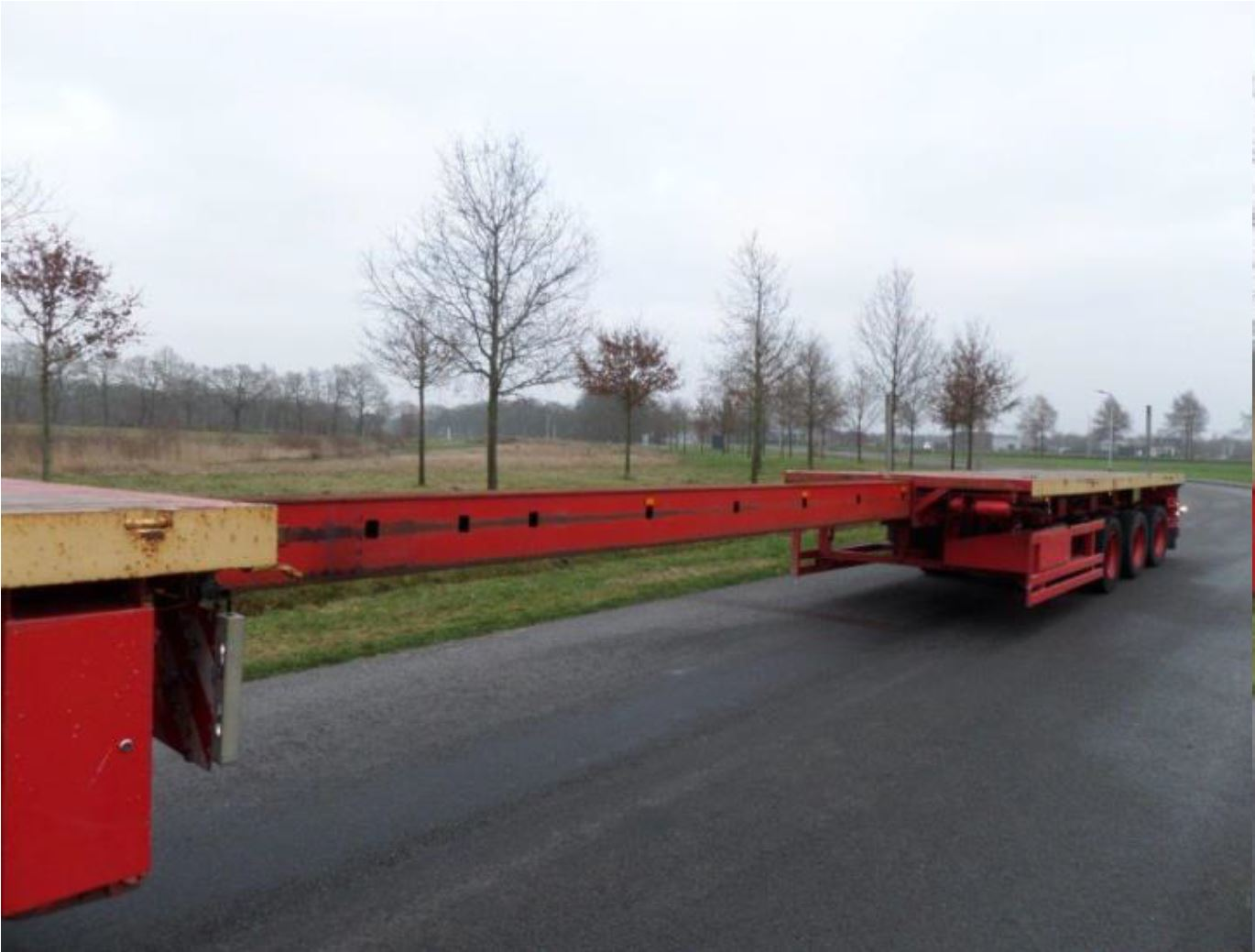 Nooteboom 3 axle tele-trailer 2006 (42)
