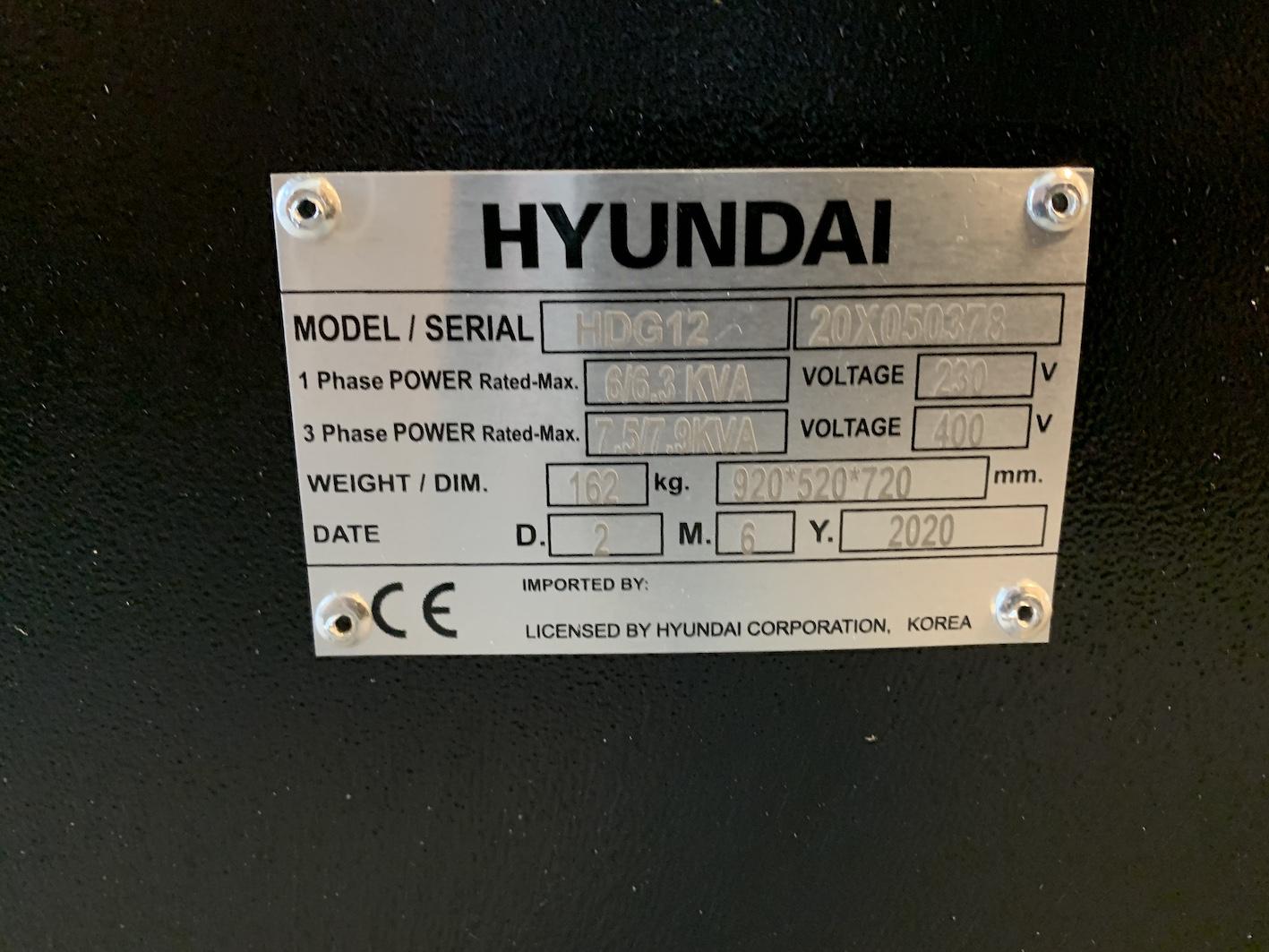 Hyundai heavy duty agregator HDG12 new 9